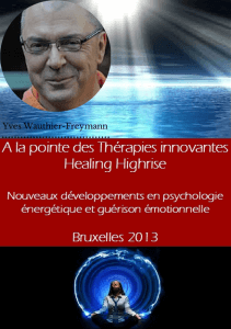 iipeca academy conférence healing highrise yves wauthier-freymann